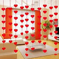 3 Bộ dây treo trang trí gắn hình trái tim thumbnail