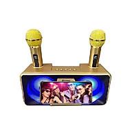 Mic Hát Đôi Kèm Loa Bluetooth TITAN - M05 hàng chính hãng thumbnail