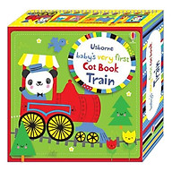 Usborne Baby s Very First Cot Book Train thumbnail