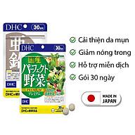 Combo GIẢM MỤN - NÓNG TRONG DHC Nhật Bản viên uống rau củ và viên kẽm 30 ngày JN-DHC-CB3 thumbnail