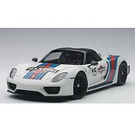 Xe Mô Hình Porsche 918 Spyder Weissach Package 1 18 Autoart - 77927 (Trắng) thumbnail