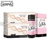 Combo 2 Collagen Adiva (14chai x 30ml), và 1 White Adiva (60 viên hộp) thumbnail