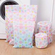 Bộ 5 túi giặt đồ lót, tất, bảo vệ quần áo họa tiết đẹp thumbnail