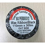 Set 5 cuộn mực Wax Premium Ribbon DV121 (110mmx300m) thumbnail
