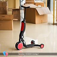 Xe đa năng trượt Scooter xe cân bằng xe đẩy cho bé 5 trong 1 Broller HD200 thumbnail