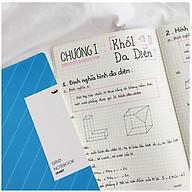 Combo 3 Vở Kẻ Ô Vuông - Grid Notebook - Xanh Biển ((183x260mm) thumbnail