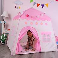 Lều Công Chúa Cho Bé - Lều Lâu Đài Cho Bé Vui Chơi - Lều Cắm Trại Cho Bé - Hàng chính hãng thumbnail
