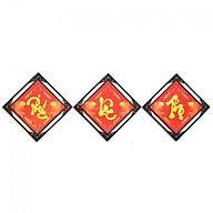Tranh Đính đá Phúc - Lộc - Thọ thumbnail