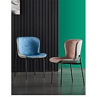 Ghế ăn NAOMI hiện đại - Ghế phòng ăn đẹp (kt 41x48x78cm) Giao màu ngẫu nhiên thumbnail