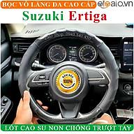 Bọc Vô Lăng Da dành cho Xe Suzuki Ertiga Lót Cao Su Non Cao Cấp Chống Trượt Tay thumbnail