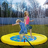 Đồ chơi phao phun nước cho bé - Thảm hơi phun nước cho bé thỏa sức vận động thumbnail