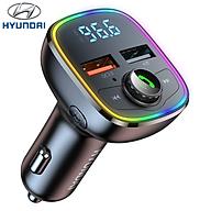 Tẩu nghe nhạc ô tô Hyundai M36 QC3.0 Kết nối bluetooth - HÀNG NHẬP KHẨU thumbnail