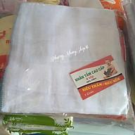 Combo 10 khăn tắm 4 lớp rẻ Khăn lau dùng cho mẹ đi sinh thumbnail