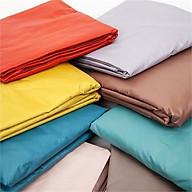 Drap giường (chằn thun dễ bọc nệm) chống thấm cho bé màu đơn sắc - Giao màu ngẫu nhiên thumbnail