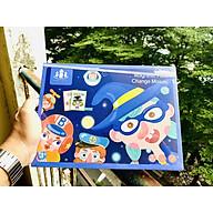 Đồ chơi xếp hình Nam Châm THAY ĐỔI KHUÔN MẶT - đồ chơi trí tuệ trẻ em đa chức năng 3 4 5 6 tuổi magnet Face Changing thumbnail