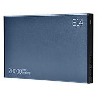 Pin Sạc Dự Phòng Tích Điện Eloop E14 (Xanh Đen) - Hàng Nhập Khẩu (20.000mAh) thumbnail