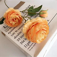 Cành Hoa Mẫu Đơn Vải 65cm thumbnail