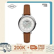 Đồng hồ nữ Fossil Jacqueline ES5090 dây da - màu nâu thumbnail