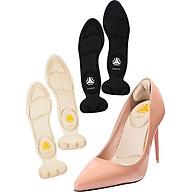 2 cặp miếng lót giày cao gót mũi tròn cho giày bị rộng, giúp giảm size cao cấp - buybox - BBPK11 thumbnail
