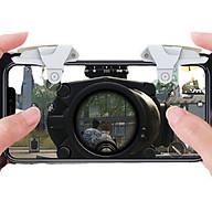 Bộ 2 nút bấm cực nhạy chơi game PUBG mobile, Freefire D99 thumbnail
