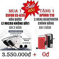 ESFOR ES-630 +32G KÈM Aporo T18 - HÀNG CHÍNH HÃNG thumbnail