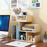 Kệ, giá sách gỗ để bàn (45cm x 43cm x 17cm) thumbnail