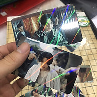 10-50 Card bo góc (1 mặt) in theo yêu cầu CÁN HOLOGRAM CHÉO thumbnail