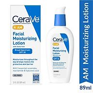 Kem dưỡng ẩm ban ngày Cerave CeraVe AM Facial Moisturizing Lotion SPF 30 thumbnail