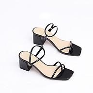 Giày Sandal Cao Gót 5cm Da Bóng Quai Mảnh Pixie X692 thumbnail