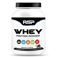 Sữa Tăng Cơ RSP Whey Protein Powder - 51 Liều dùng, 2.14kg - Cookies & Cream thumbnail