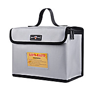 Portable Fireproof Explosionproof Lipo Battery Guard Safe Bag Large Storage Space for Battery Storage and Charging with thumbnail