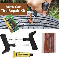 Có hàng sẵn Combo 8 miếng Bộ dụng cụ sửa chữa lốp xe hơi chuyên dụng thumbnail