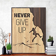 Inspirational Spirit Motto Painting Never Give Up thumbnail