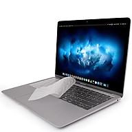 Miếng phủ bàn phím cho MacBook Air 13 inch (Retina 2018 - 2019) hiệu JCPAL FitSkin Tpu siêu mỏng 0.2mm - Hàng nhập khẩu thumbnail