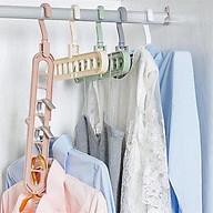 Combo 3 móc treo quần áo đa năng 9 lỗ thumbnail