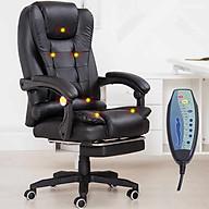 Ghế Văn Phòng AZP-123 Tích Hợp Massage Có Remote Siêu Êm Thư Giản - Kèm Gác Chân Ngả Lưng nghỉ ngơi thumbnail