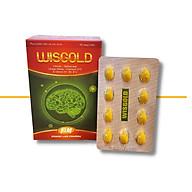 Thực phẩm chức năng WISGOLD - Tăng cường tuần hoàn não , giảm các triệu chứng thiểu năng tuần hoàn não như hoa mắt, đau đầu, suy giảm trí nhớ, giúp phục hồi sau tai biến mạch máu não thumbnail