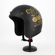 Mũ Bảo Hiểm 3 4 Đầu Tem Xe Siêu Chất - Mũ Bảo Hiểm Chuyên Phượt Cao Cấp thumbnail