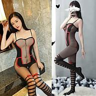 Đồ Ngủ Lưới Mịn Liền Thân Xuyên Thấu Hở Đáy Sexy Bodystock Erotic Lingerie Nightwear Brave Man BCS21 53 thumbnail