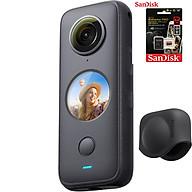 Máy quay Insta360 ONE X2 kèm Lens cap + Thẻ nhớ 64GB - Hàng Chính Hãng thumbnail