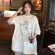 Áo phông nữ Quảng Châu dáng rộng lấp lánh - RiBi Shop thumbnail