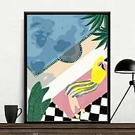 Tranh sơn dầu số hóa rẻ,đẹp-tranh tô màu theo số- tranh sừng nai đẹp 3 , Tặng khăn,khung gỗ 40x50-Moon shop-TD1 thumbnail
