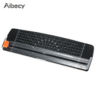 Aibecy Portable Paper Trimmer A4 Size Paper Cutter Cutting Machine 12 Inch Cutting Width for Craft Paper Photo Laminated thumbnail