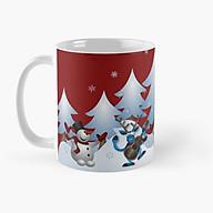 Cốc in hình Giáng sinh Merry Christmas thumbnail