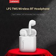 Tai nghe không dây Lenovo LP2 TWS BT Tai nghe bán trong tai Tai nghe thể thao chống thấm nước Tai nghe ENC Giảm tiếng ồn thumbnail