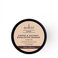 Mặt Nạ Tẩy Tế Bào Chết Cà Phê Và Dừa Sukin Coffee & Coconut Exfoliating Masque 100g thumbnail
