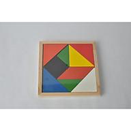 Tangram bằng gỗ Trí Não Teaser Xếp Hình Giáo Dục Phát Triển Đồ Chơi Trẻ Em thumbnail