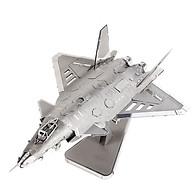 Mô hình thép 3D tự ráp cao cấp máy bay J20 JET thumbnail