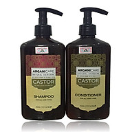 Bộ gội xả Arganicare Castor shampoo & conditioner dưỡng ẩm phục hồi chống rụng tóc Israel 400ml thumbnail
