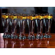 Bộ 6 Ly Uống Bia Pha Lê Mạ Vàng 500ml Họa Tiết Versacee thumbnail